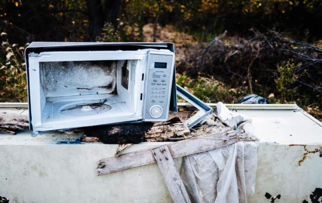 What happens to small household appliances when they obsolesce or break? Just recycling isn't enough; CSR must begin at the beginning.